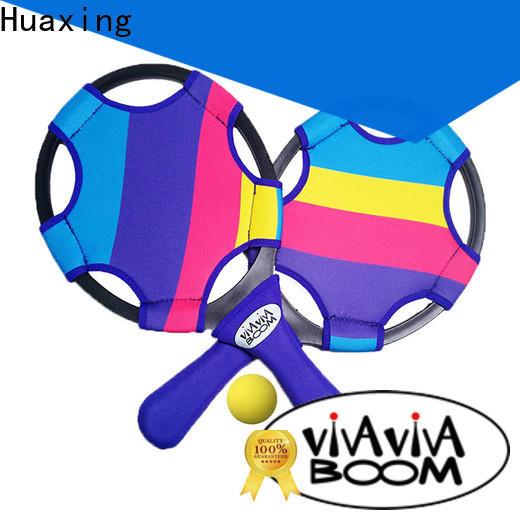 Huaxing mini best beach tennis rackets bulk production for sea
