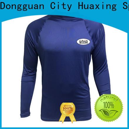 Huaxing good-looking rash guard swimsuit for kayaking