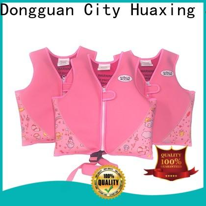 Huaxing directly best baby swim vest producer for toddler