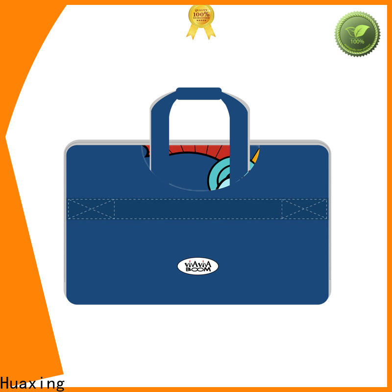 Huaxing neoprene laptop sleeve with handle manufacturer for women