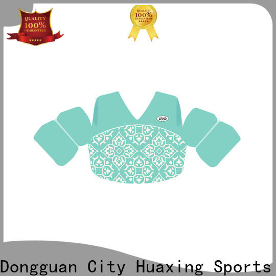Huaxing print best baby swim vest producer for surfing