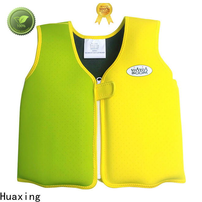 Huaxing professional kids swimming life jacket from manufacturer for beach