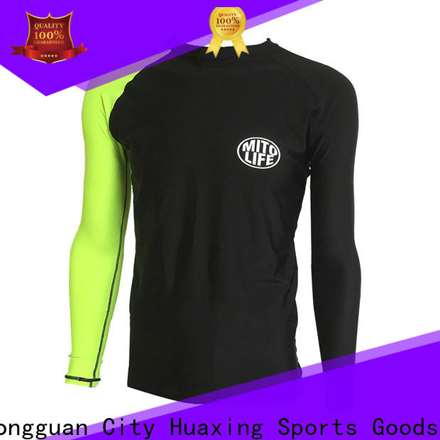 Huaxing protection swim rash guard womens for stand up paddle surfing