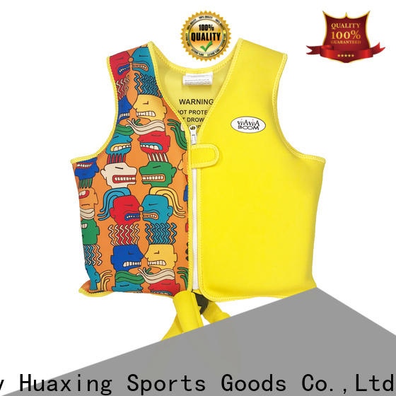 Huaxing professional best baby swim vest bulk production for surfing