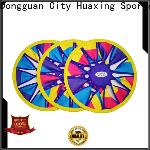 Huaxing ring neoprene dog toys bulk production for children