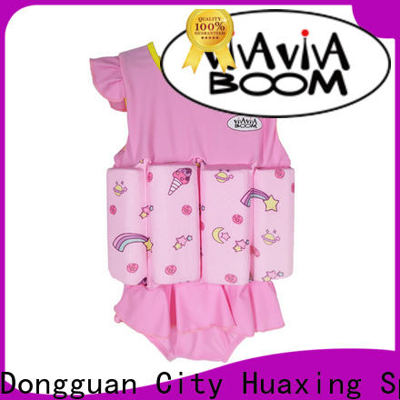 Huaxing suit super soft swim vest grab now for beach