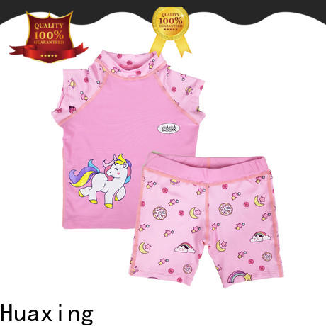 Huaxing protective girls rash guard for water survival training