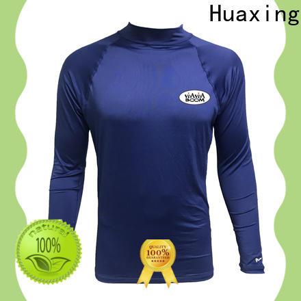 Huaxing good-looking rash guard dropshipping for freediving