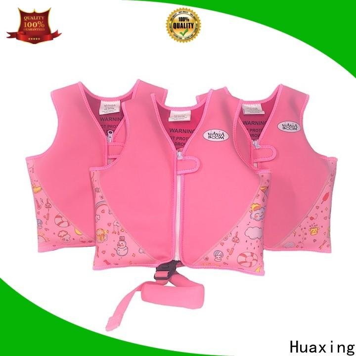 Huaxing resonable price children's life jackets swimming bulk production for swimming