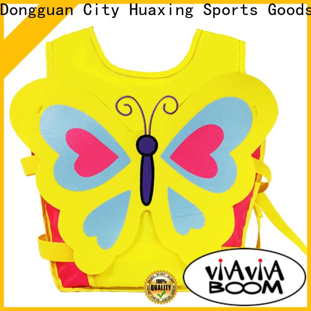 Huaxing swim best kids swim vest factory price for beach