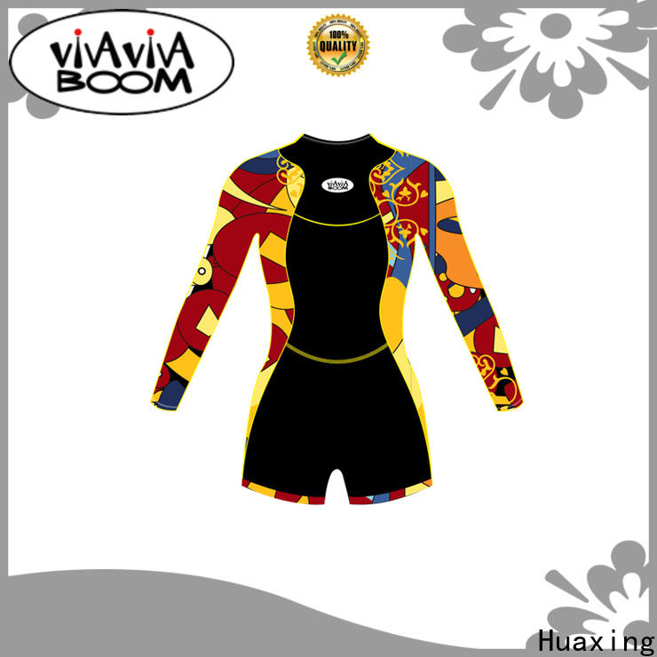 Huaxing fashion design long sleeve wetsuit from china for surfing