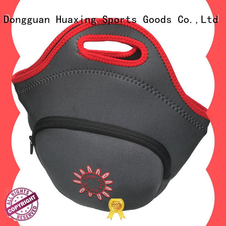 Huaxing widely-used neoprene lunch box manufacturer for women