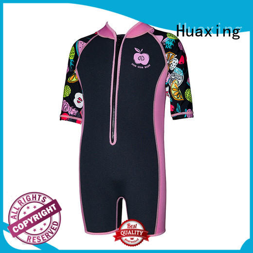 waterproof womens shorty wetsuit printed supplier for lake activities