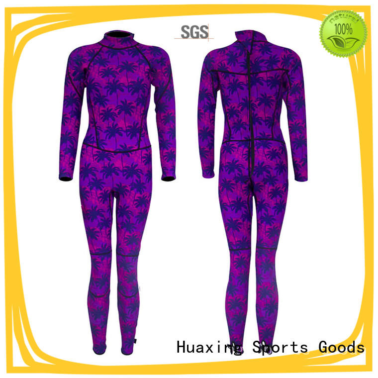 Huaxing color toddler wetsuit from china for lake activities