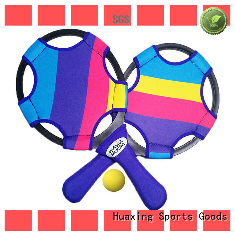 Huaxing best beach paddle ball set manufacturer for beach game