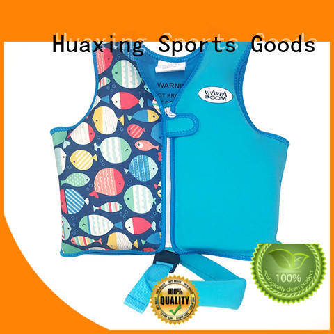 Huaxing perfect infant swim vest vendor for swimming