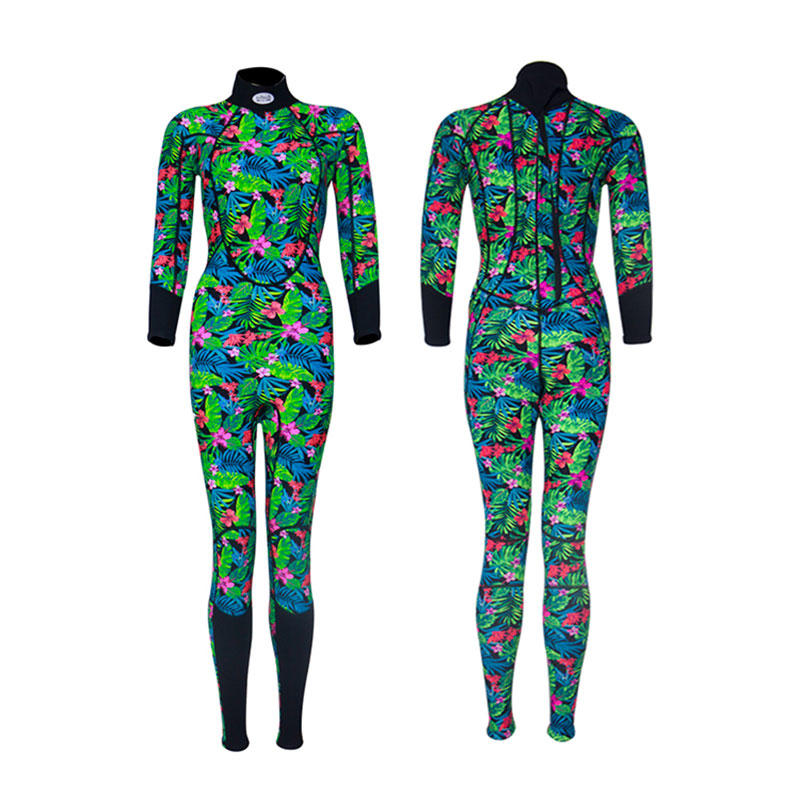 2019 New fashion freediving wetsuit women 3mm best dive camo pattern neoprene wetsuit