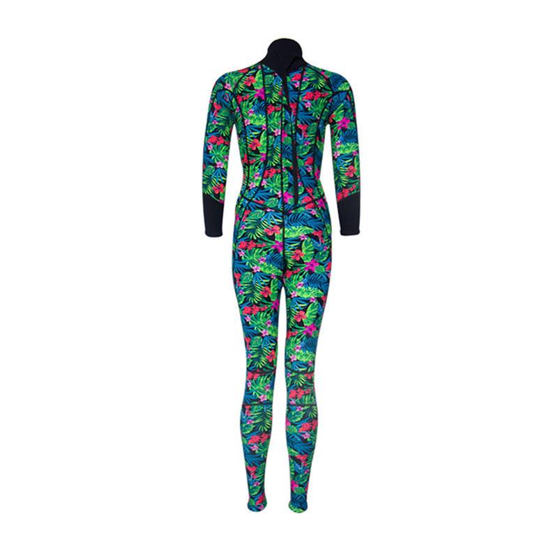 2019 New fashion freediving wetsuit women 3mm best dive camo pattern neoprene wetsuit