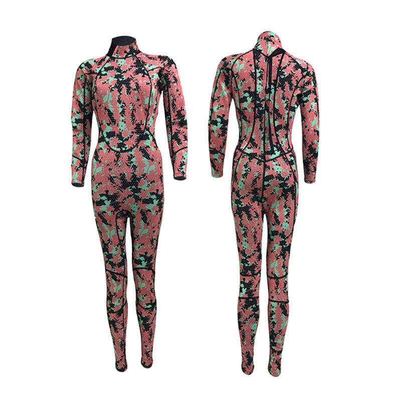 2019 New fashion 3mm neoprene ladies wetsuit woman custom color triathlon diving wetsuit