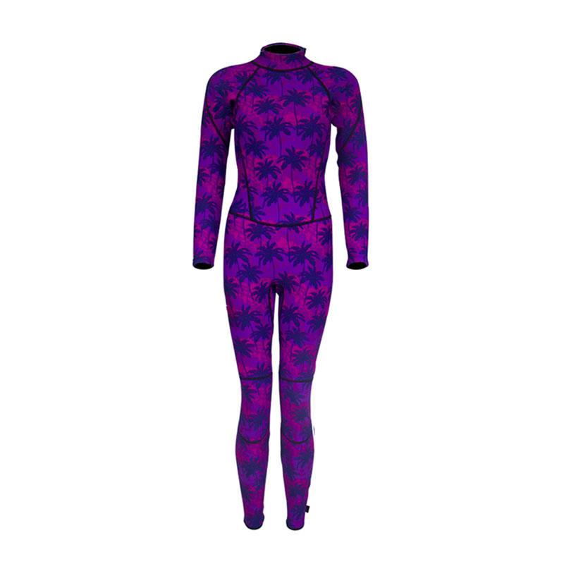 2019 Newly designed wetsuit 3mm women camo pattern neoprene surfing freediving wetsuit