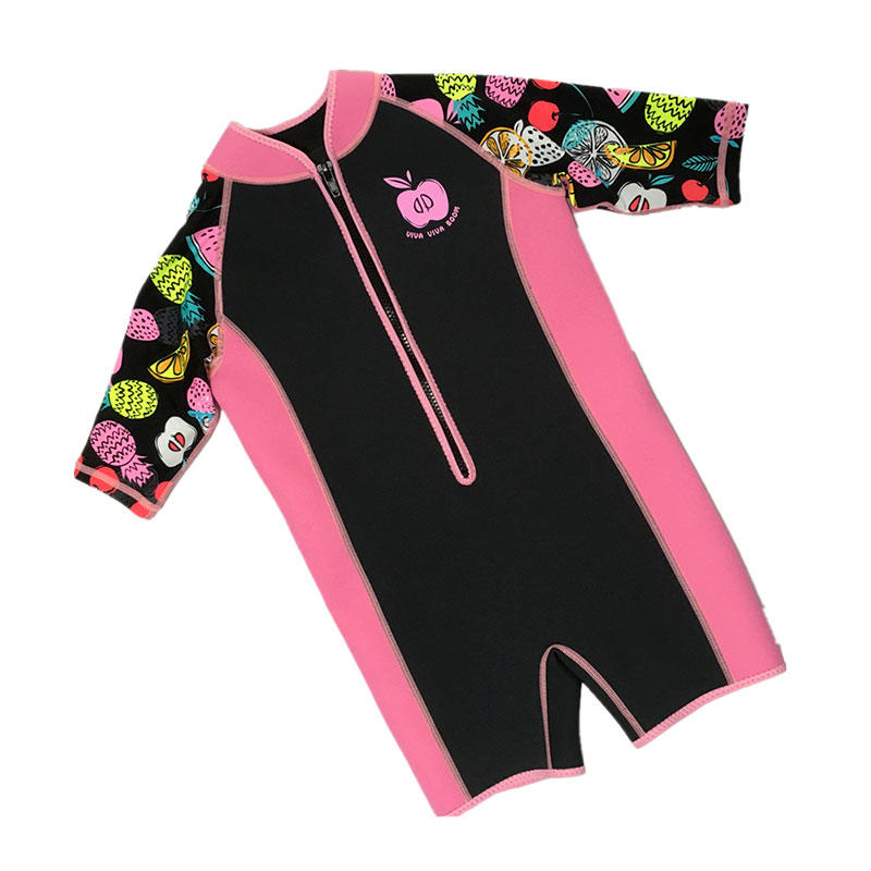 High quality 2mm kids neoprene wetsuit custom print kids diving suit