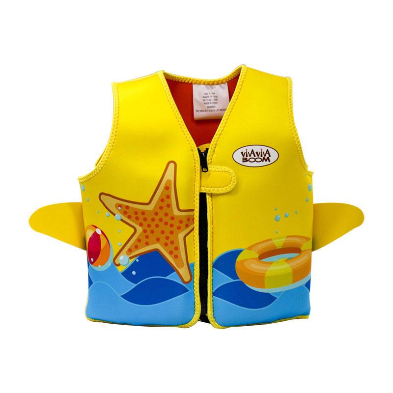 Colorful Digital Printing Kids Neoprene Flotation Vest VC001ZY04