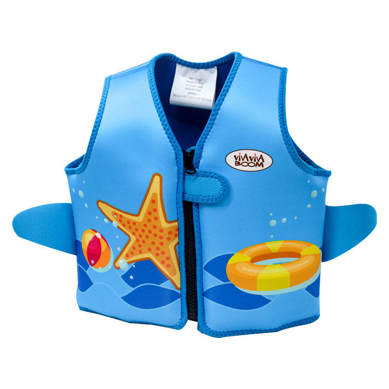 Colorful Digital Printing Kids Neoprene Flotation Vest VC001ZY04
