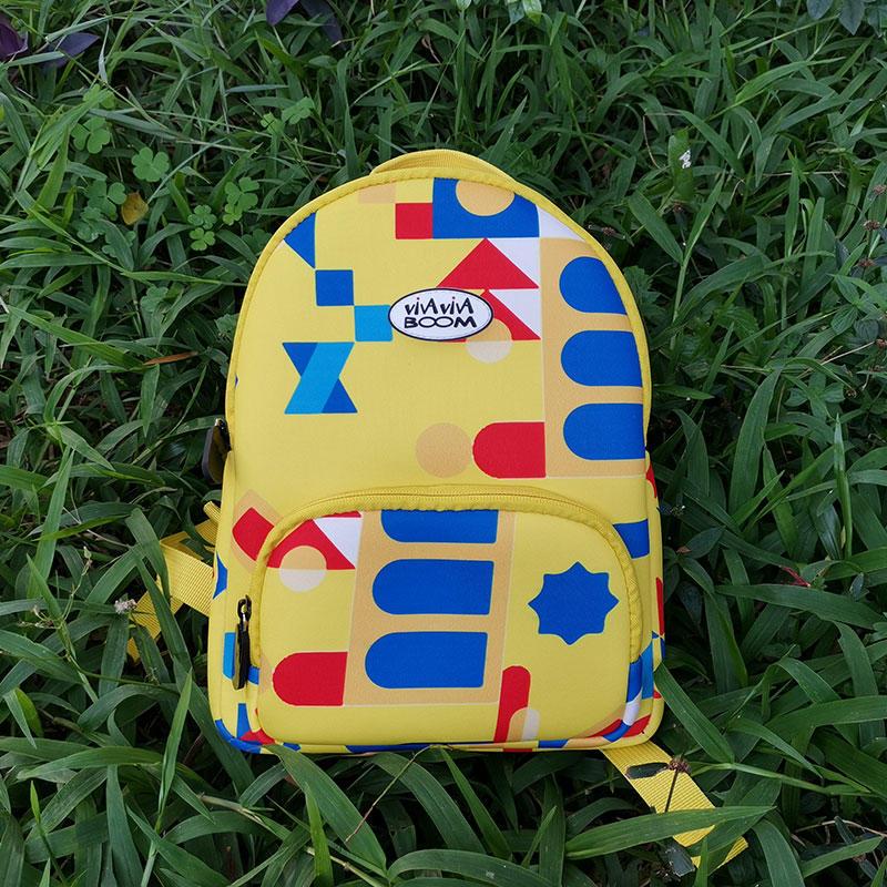 Newly designed neoprene backpack bag colorful kids neoprene backpack