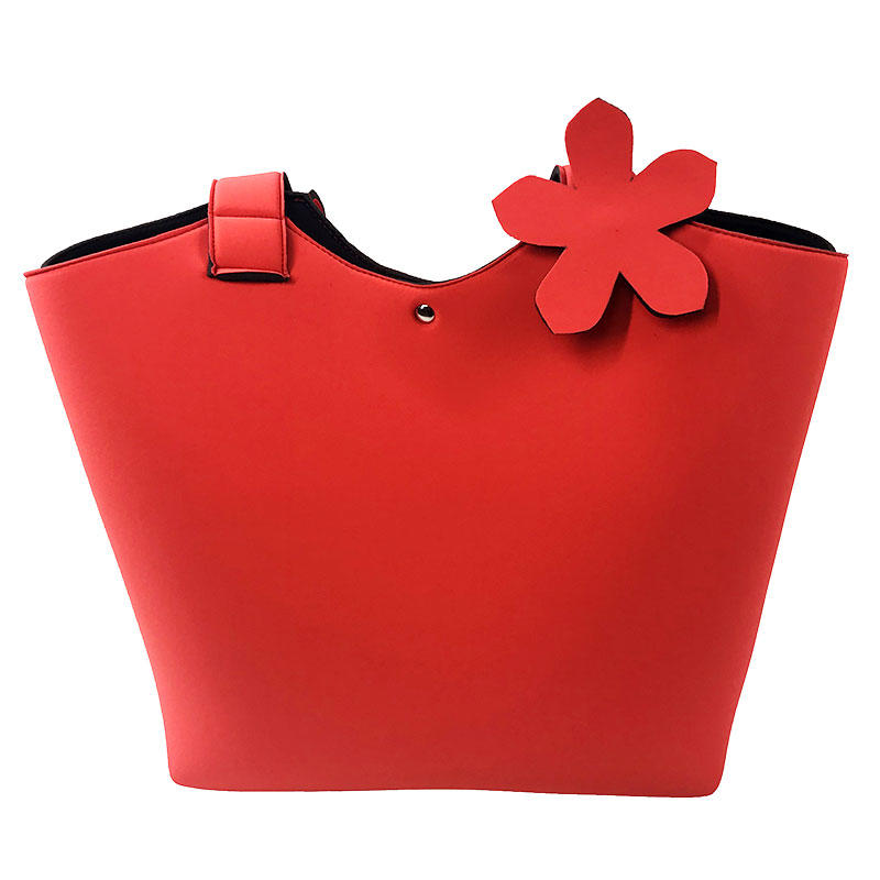 2019 New fashion hot sale neoprene beach tote bag