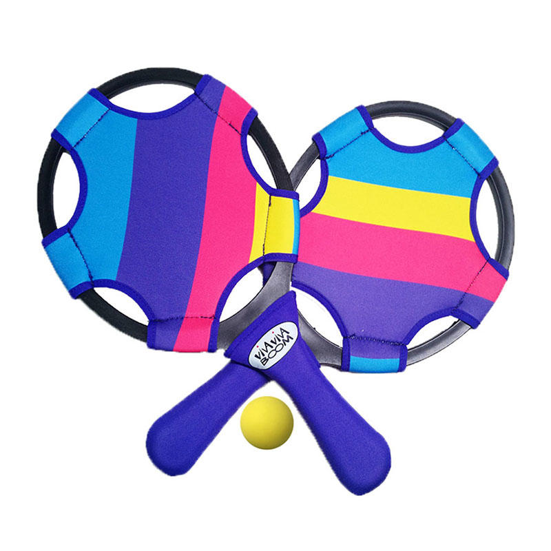 Wholesale high quality beach toy set colorful neoprene beach paddle