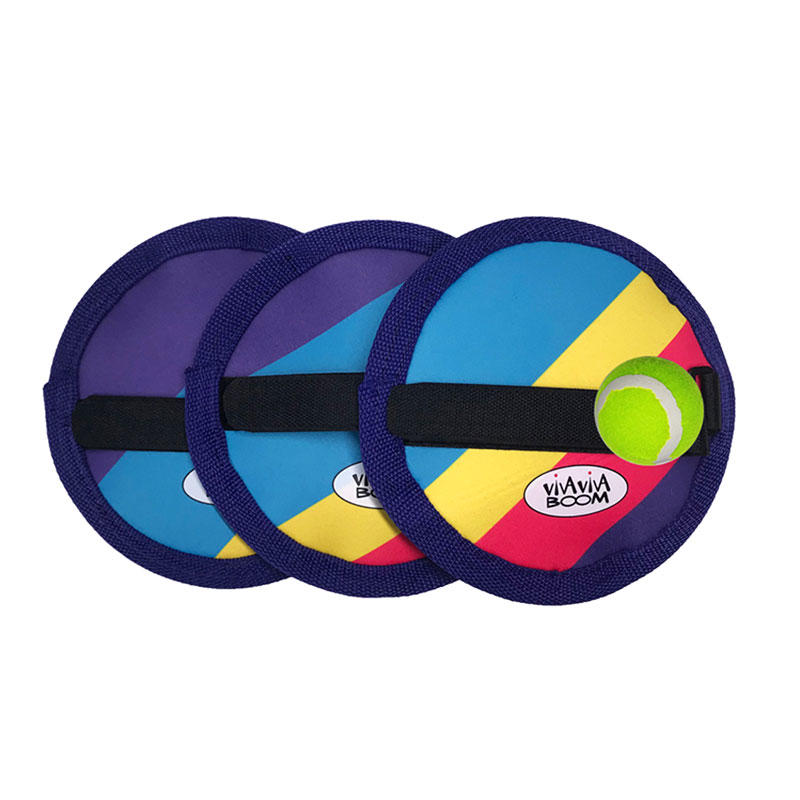 Newly designed kids outdoor neoprene catch ball game set