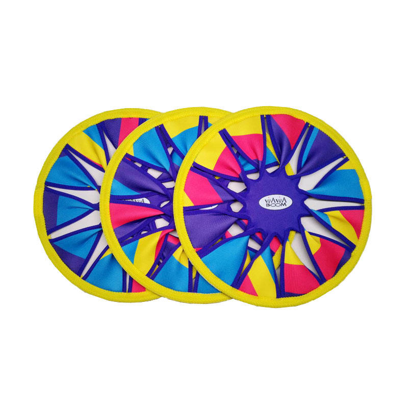 Newly designed safety neoprene material flying disc ring toy beach game flying disc