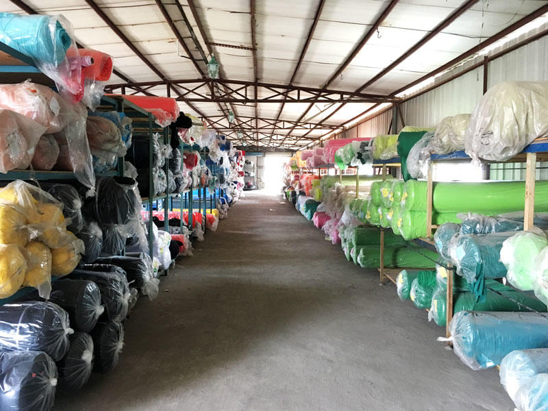 Fabric-material-warehouse