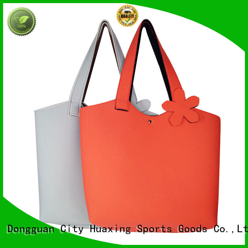 Huaxing hot sale neoprene beach bag supplier for computer