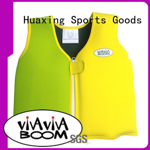 Huaxing colorful childrens swim vest vendor for swimming