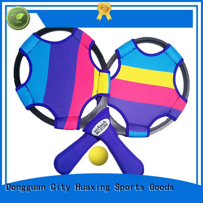 fashion design beach paddle ball game ring bulk production for beach game