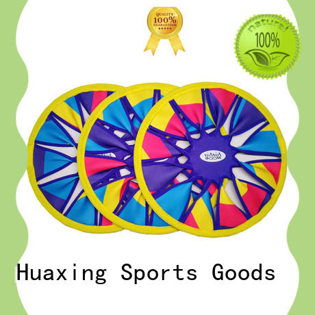 Huaxing good looking beach rackets wholesale for beach game