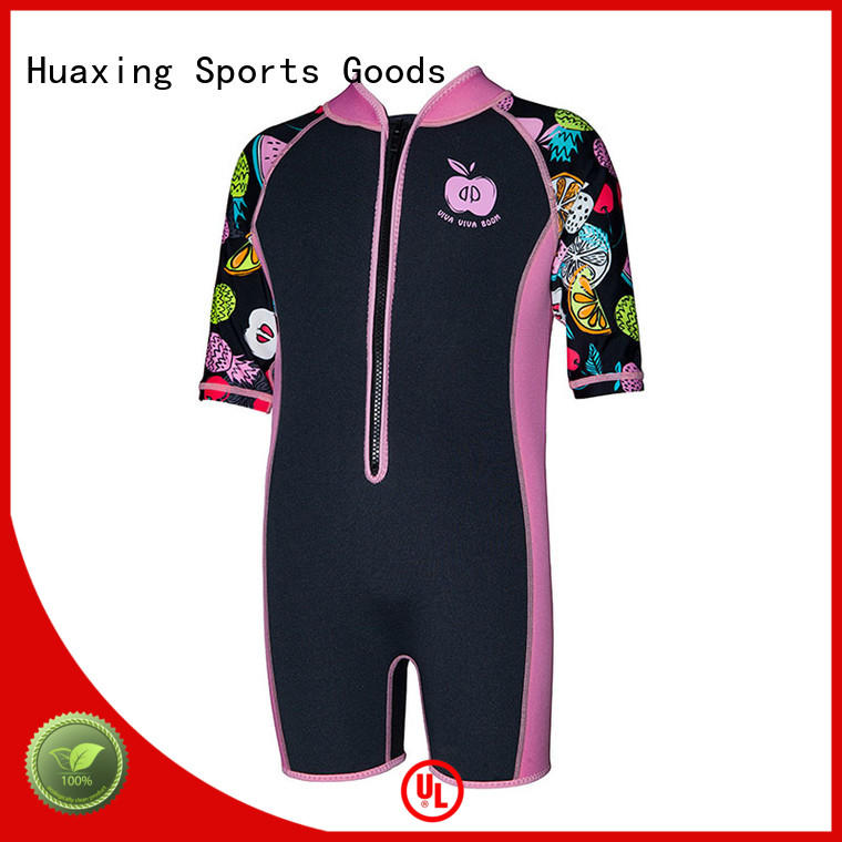 neoprene mens wetsuit logo for lake activities Huaxing