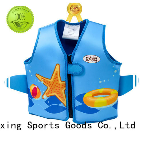 Huaxing quality kids swimming life jacket producer for swimming