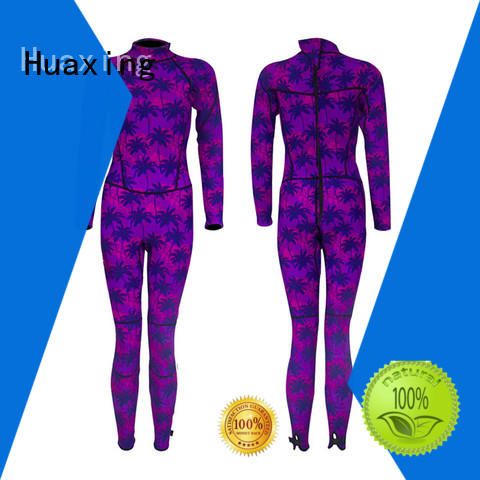 Huaxing fashion design toddler wetsuit owner for paddle sports