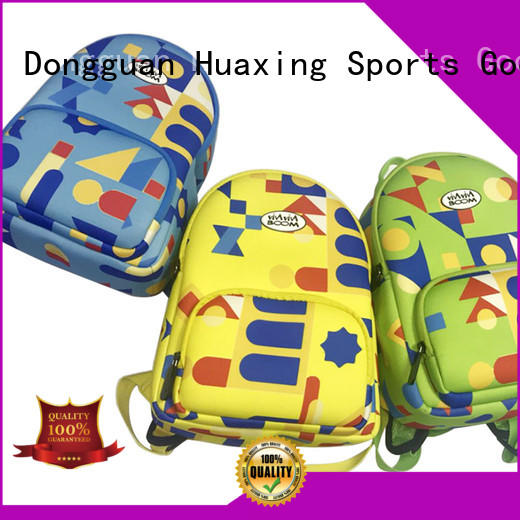 Huaxing kids neoprene lunch bag bulk production for children