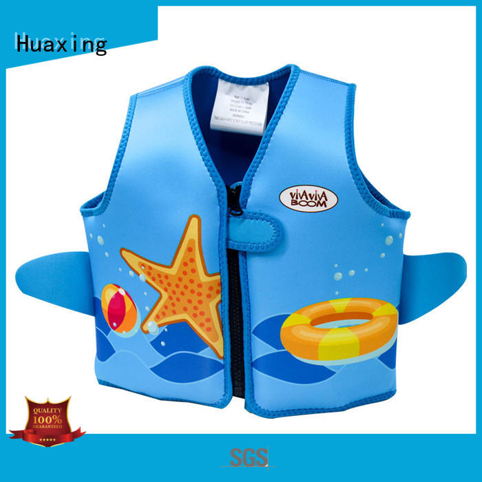 Huaxing high-quality kids swimming life jacket producer for swimming