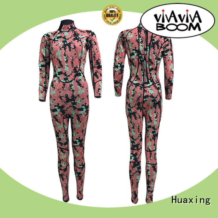 Huaxing pattern toddler wetsuit producer for diving
