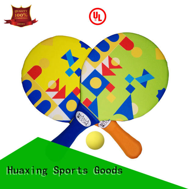 fun neoprene catch ball set vendor for beach game Huaxing