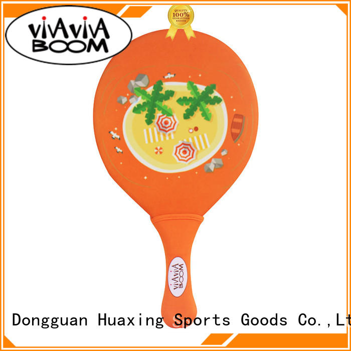 Huaxing quality beach paddle ball for sea