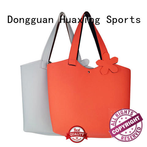 Huaxing creative neoprene lunch bag wholesale for women