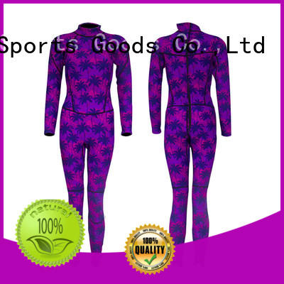Huaxing colorful female wetsuit supplier for surfing