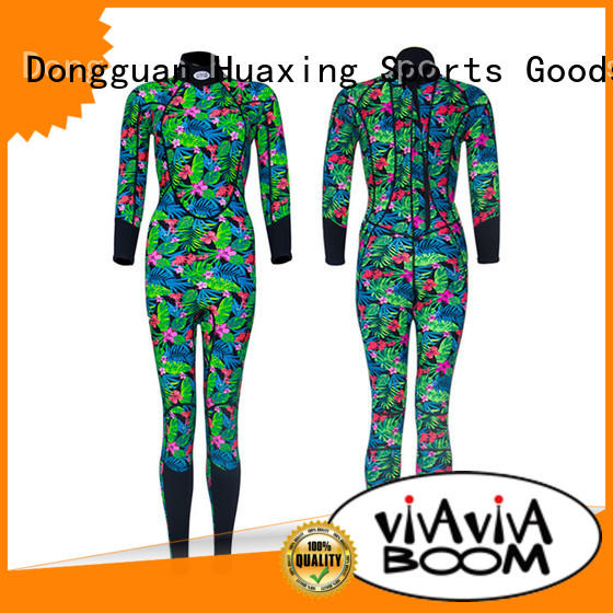 Huaxing perfect womens wetsuits from china for lake activities