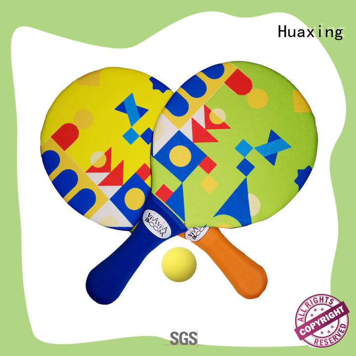 Huaxing disc beach paddle ball wholesale for sea