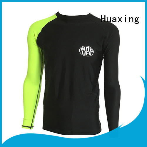 Huaxing sports ladies rash guard dropshipping for bodysurfing